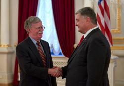 Президент Украины провел встречу с Советником Президента США по вопросам нацбезопасности