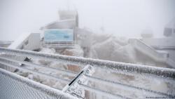 В Германии выпал первый снег