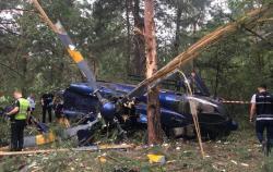 Авария вертолета на Трухановом острове