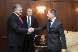 Президент провел встречу со Спецпредставителем США по Украине Куртом Волкером