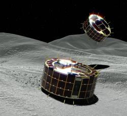 Японские минироботы успешно сели на поверхность астероида Рюгу