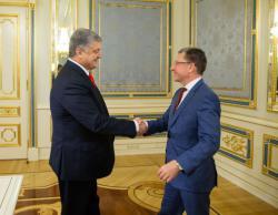 Встреча Петра Порошенко с Куртом Волкером