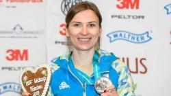 Украинка Елена Костевич стала чемпионкой мира по стрельбе из пистолета
