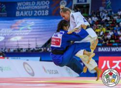 Украинская спортсменка Дарья Билодид стала чемпионкой мира по дзюдо