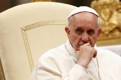Папа Римский раскритиковал порнографию как индустрию