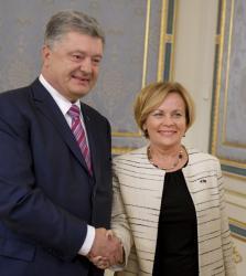 Президент Украины провел встречу с Председателем Парламентской Ассамблеи НАТО