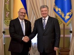 Президент Украины принял верительные грамоты у послов Израиля, Катара, Бельгии, Исландии в Украине