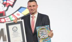 Братья Кличко внесены в книгу рекордов Гинесса