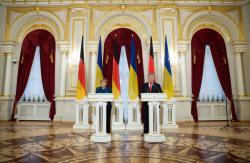 А.Меркель: Германия будет выступать за продолжение санкций против РФ