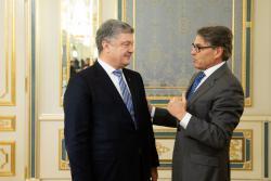 Президент Украины провел встречу с Министром энергетики США