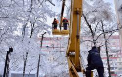 В Украине из-за снегопада обесточены 170 населенных пунктов