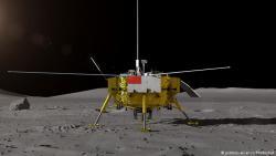 Китай впервые отправил луноход на обратную сторону Луны