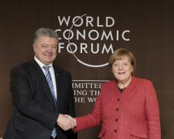 Президент Украины встретился с Федеральным канцлером Германии