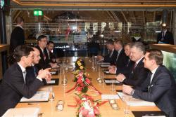Состоялась встреча Президента Украины и Президента Швейцарской Конфедерации