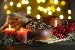 Православные христиане восточного обряда празднуют Рождество