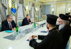 Президент Украины принял делегацию Вселенского патриархата