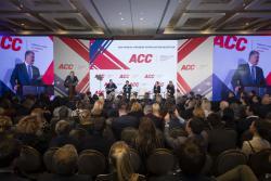 Президент принял участие в ежегодном приеме компаний-членов Американской торговой палаты в Украине