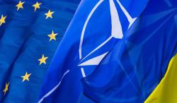 Верховная Рада сегодня рассмотрит изменения в Конституцию о курсе Украины в ЕС и НАТО