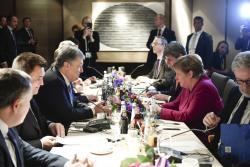 Президент Украины в Мюнхене провел переговоры с канцлером Германии