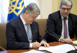 Президент Украины подписал письмо-обращение к Генеральному секретарю ООН по содействию в освобождении украинских моряков