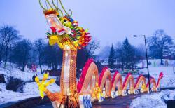 В Киеве стартовал Фестиваль гигантских китайских фонарей