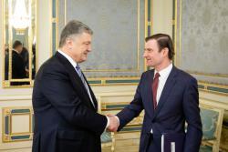 Президент Украины провел встречу с заместителем Госсекретаря США