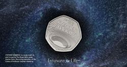 В Британии выпустили необычную монету в память о Стивене Хокинге