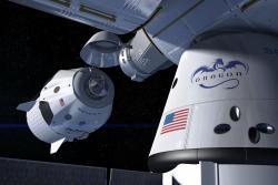 SpaceX запустила на МКС космический корабль в беспилотном режиме