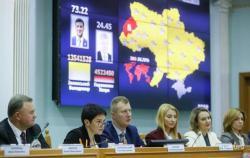 ЦИК официально объявила результаты выборов президента Украины