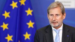 Еврокомиссар Иоханнес Хан прибыл в Киев для встречи с Зеленским