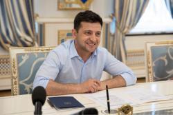 Владимир Зеленский встретился с представителями Всемирного конгресса украинцев