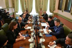 Президент Украины встретился с руководителями внешнеполитических ведомств Франции и Германии