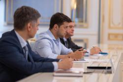 Президент Украины провел совещание по вопросам энергобезопасности