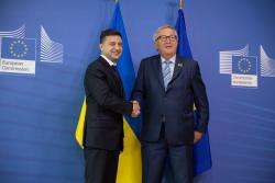 Президент Украины встретился с Президентом Европейской комиссии