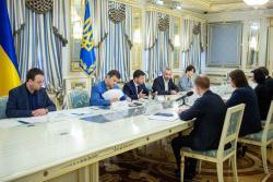 Президент обсудил запуск работы Высшего антикоррупционного суда