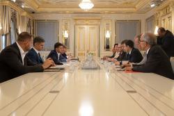 Владимир Зеленский провел встречу с председателем ОБСЕ
