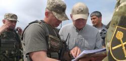 Леонид Кучма совершил рабочую поездку в Луганскую область