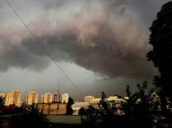 На Киев обрушился ураган