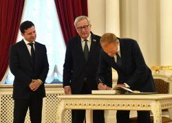 По результатам саммита Украина - ЕС подписан ряд соглашений
