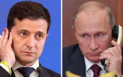 Президент Украины провел телефонный разговор с Президентом России
