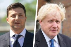 Владимир Зеленский провел телефонный разговор с Премьер-министром Великобритании