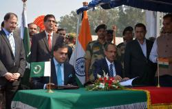 Пакистан и Индия подписали исторический договор о границе