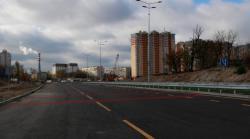 В Киеве 1 ноября откроют движение по новому участку Большой Окружной дороги