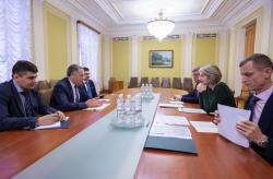 Заместитель руководителя Офиса Президента встретился с главным внешнеполитическим советником Президента Литвы