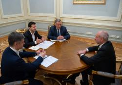 Президент Украины принял верительные грамоты у послов Швеции, Швейцарии, Грузии, Мексики и ЕС