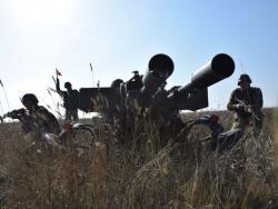 Боевики 16 раз обстреляли позиции Вооруженных сил Украины в Донбассе