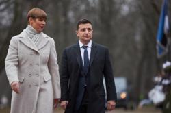 Зеленский встретился в Таллинне с президентом Эстонии