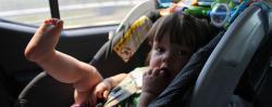 Пассивная безопасность: в Украине вступил в силу закон о запрете перевозить детей без автокресла