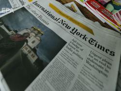 The New York Times опубликовало карту Украины без Крыма