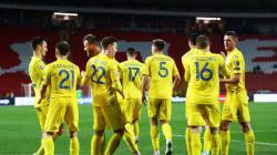 Сборная Украины потеряла две позиции в рейтинге ФИФА